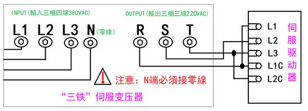 三相智能伺服电子变压器/伺服电机专用